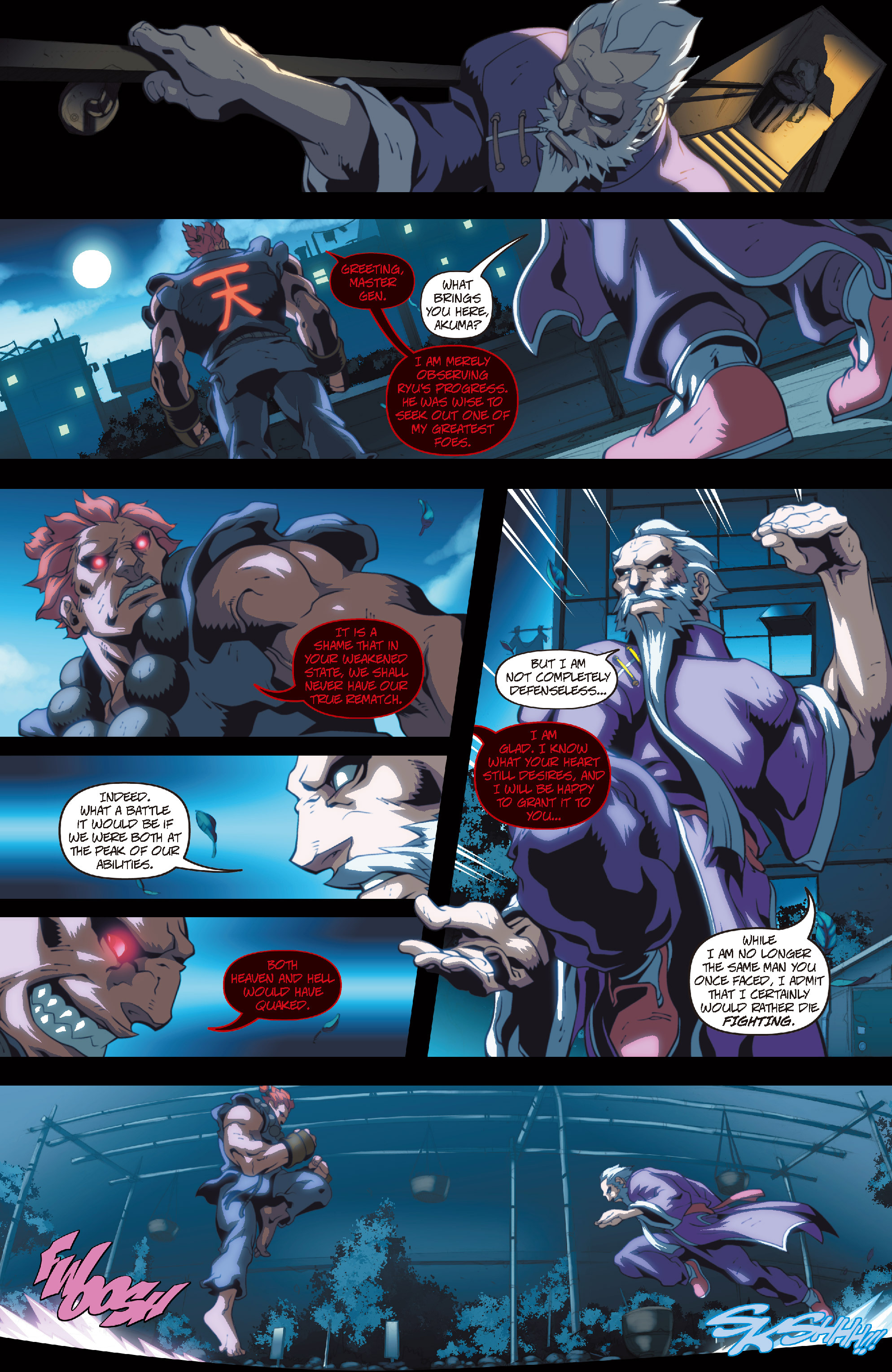 Street Fighter II chap 4 pic 17