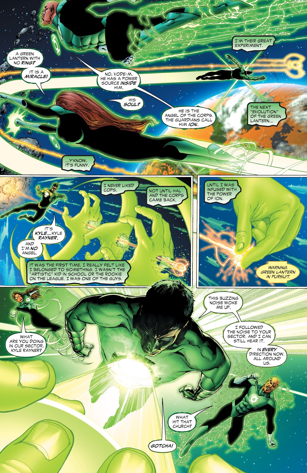 Green Lantern: The Sinestro Corps War Full #1 - English 17