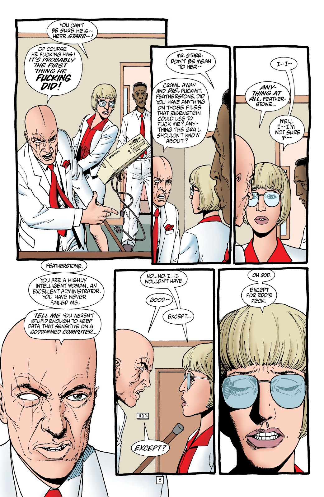 Preacher Issue #56 #65 - English 9