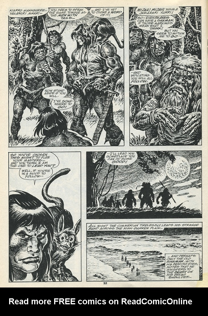 The Savage Sword Of Conan Issue #193 #194 - English 34