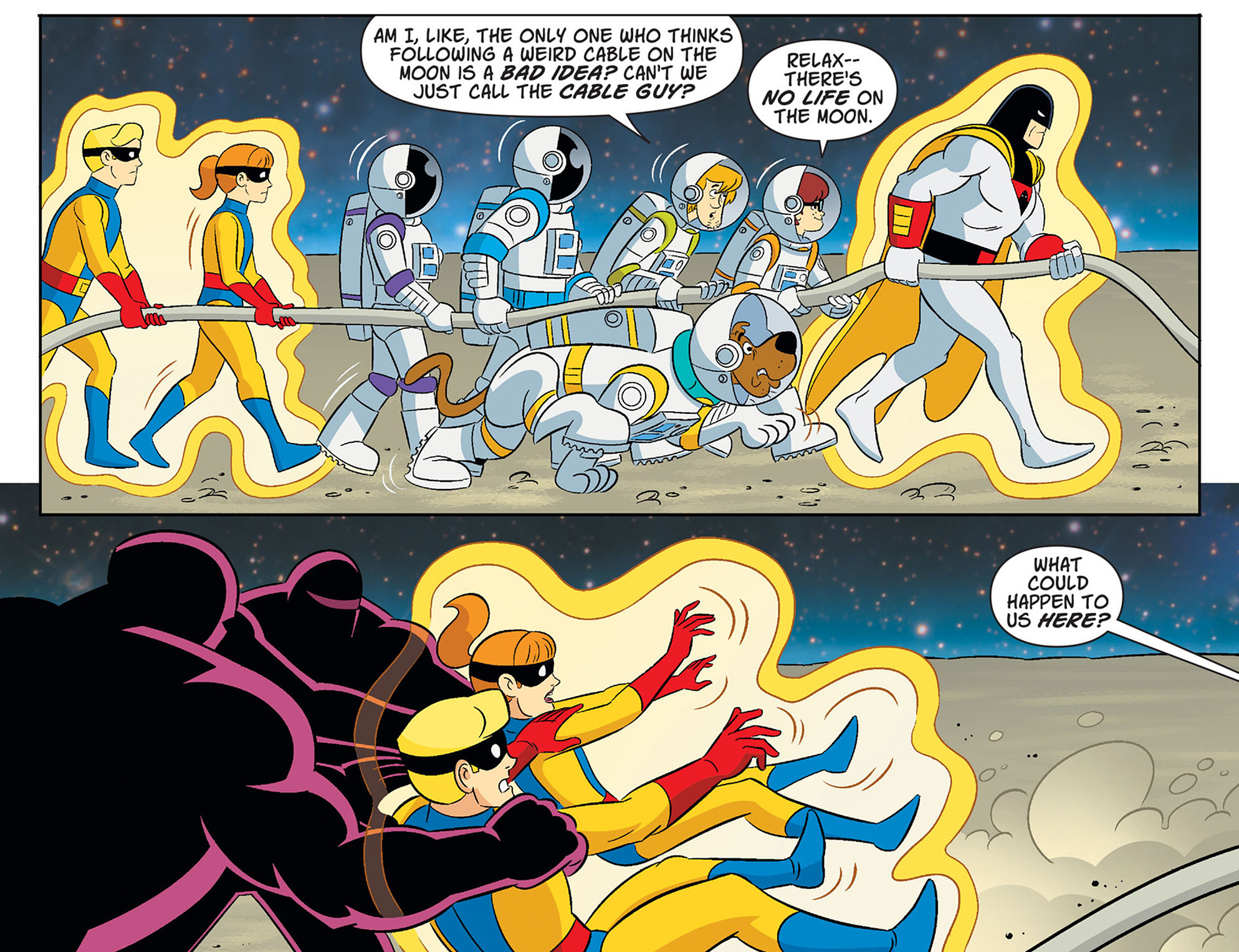 Read online Scooby-Doo! Team-Up comic -  Issue #40 - 9