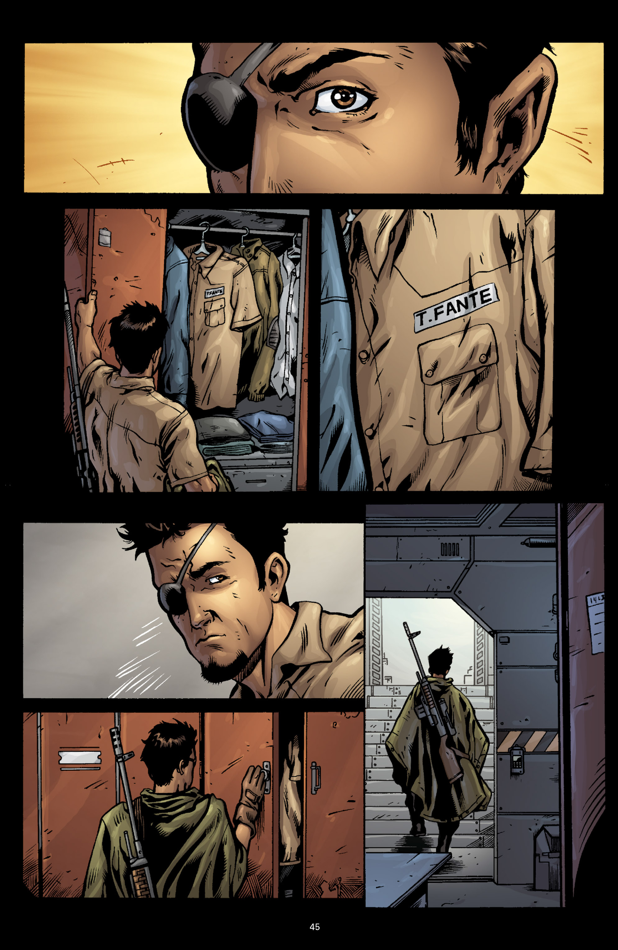 Aliens (2009) TPB Page 41