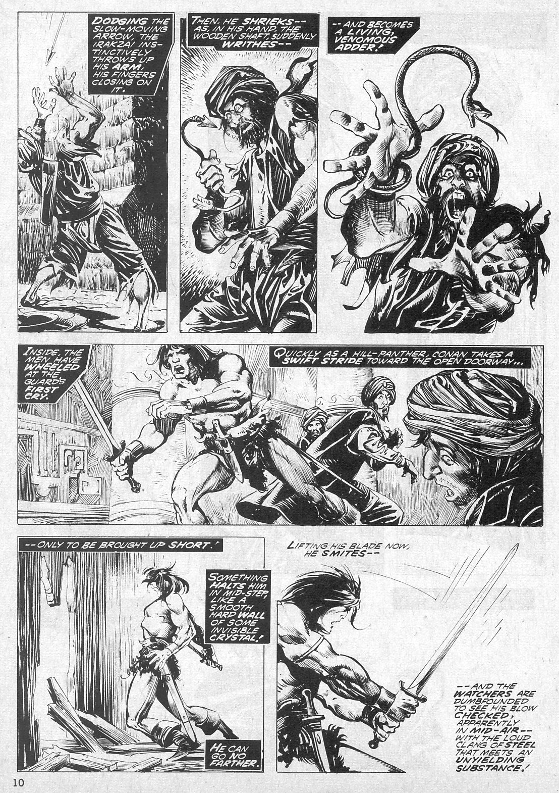 The Savage Sword Of Conan Issue #19 #20 - English 10