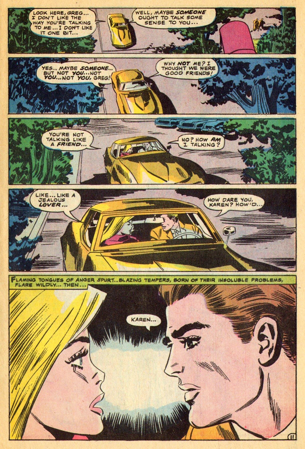 Read online Secret Hearts comic -  Issue #134 - 31