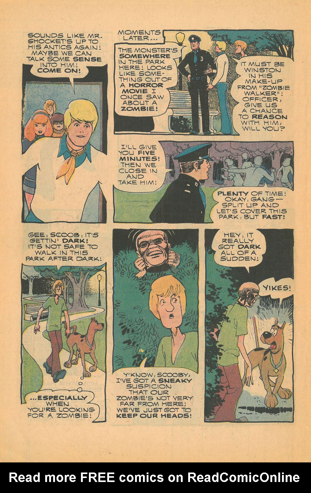 Read online Scooby-Doo... Mystery Comics comic -  Issue #21 - 10