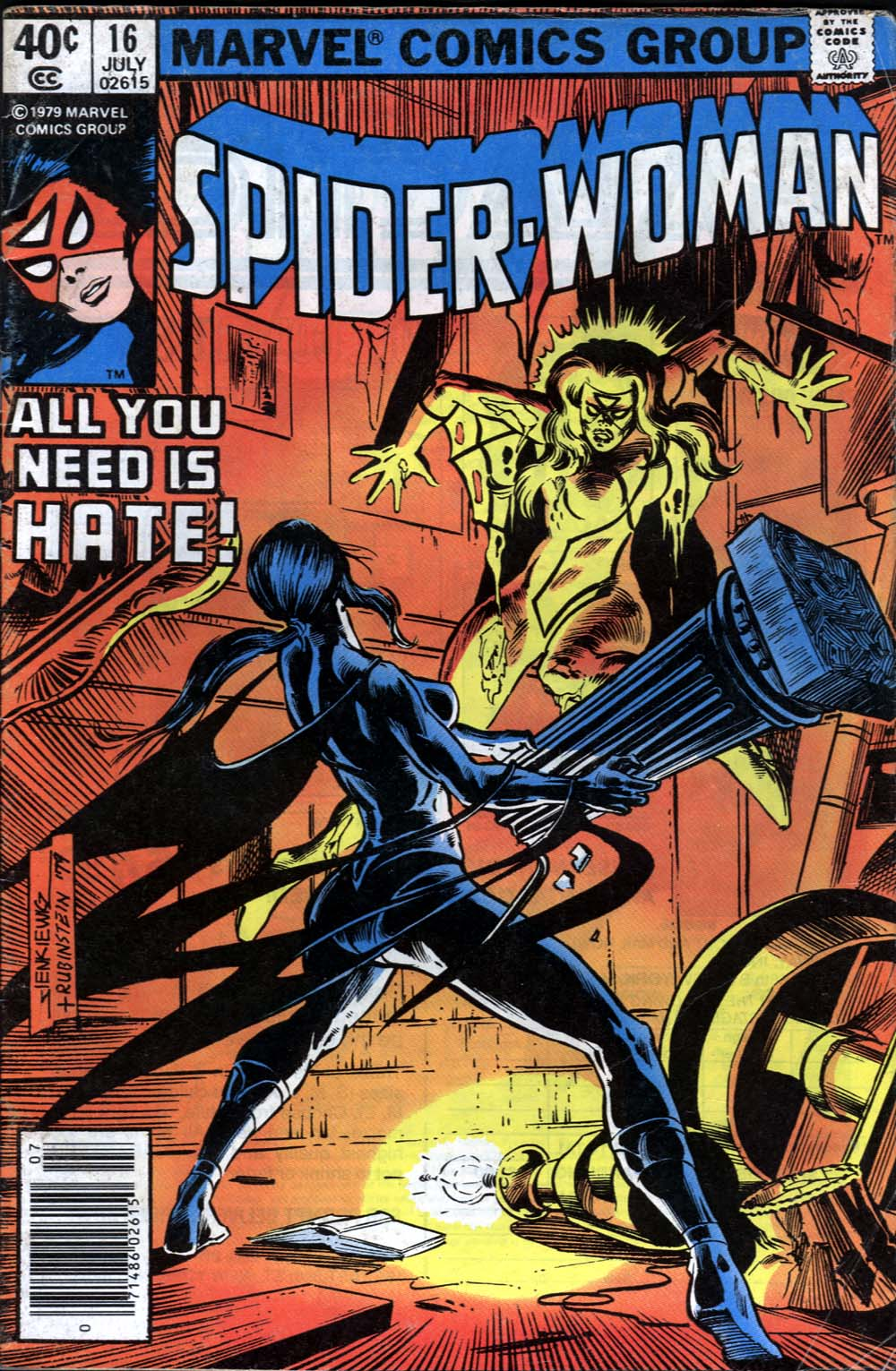 Spider-Woman (1978) Issue #16 #16 - English 1