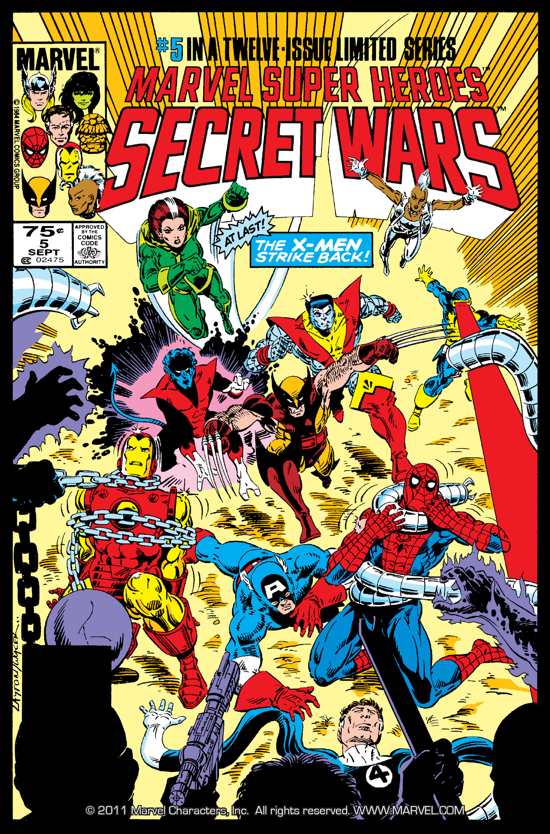 Secret Wars (1985) issue 5 - Page 1