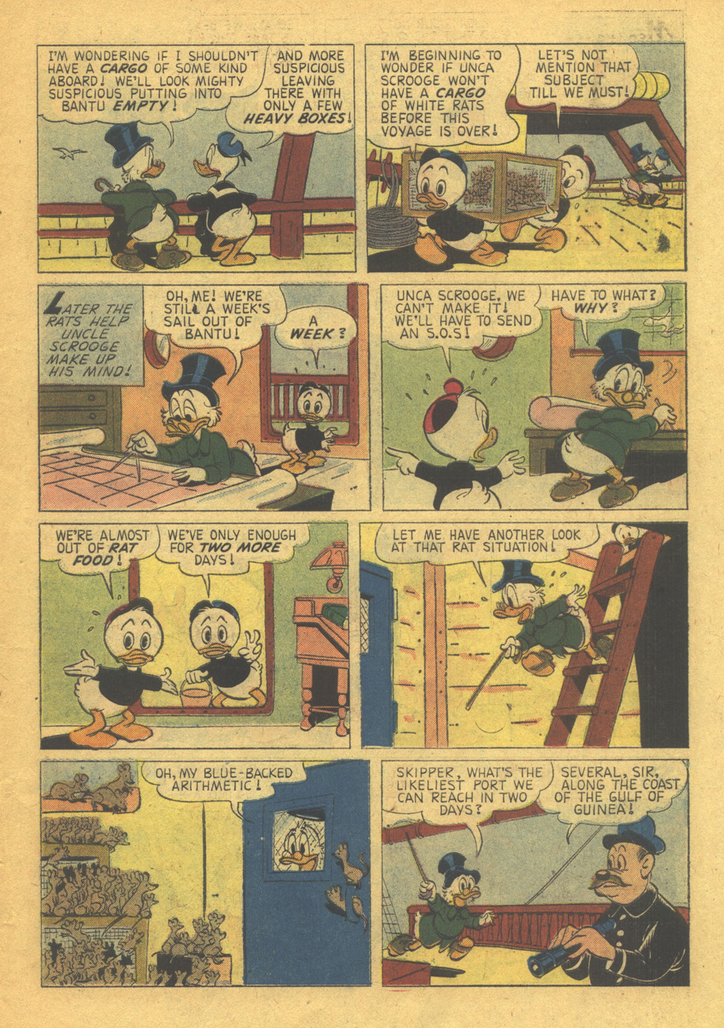 Uncle Scrooge (1953) Issue #31 #31 - English 7