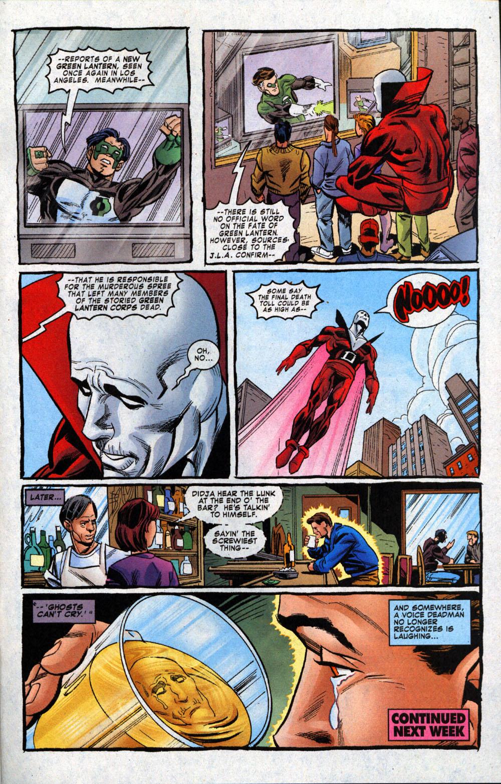 Read online Deadman: Dead Again comic -  Issue #4 - 23