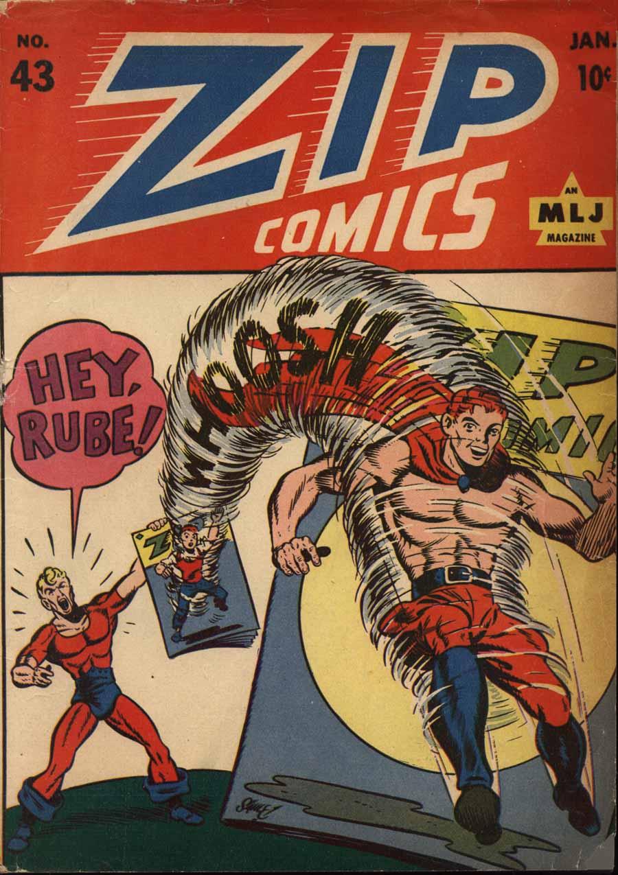 Zip Comics 43 Page 1