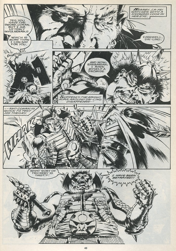 The Savage Sword Of Conan Issue #175 #176 - English 45