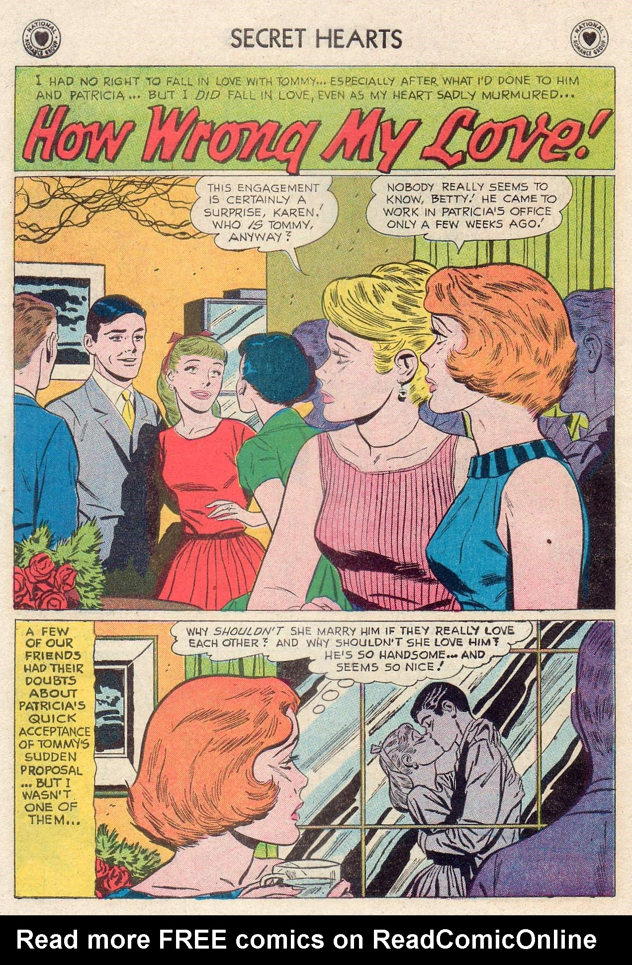 Read online Secret Hearts comic -  Issue #46 - 10