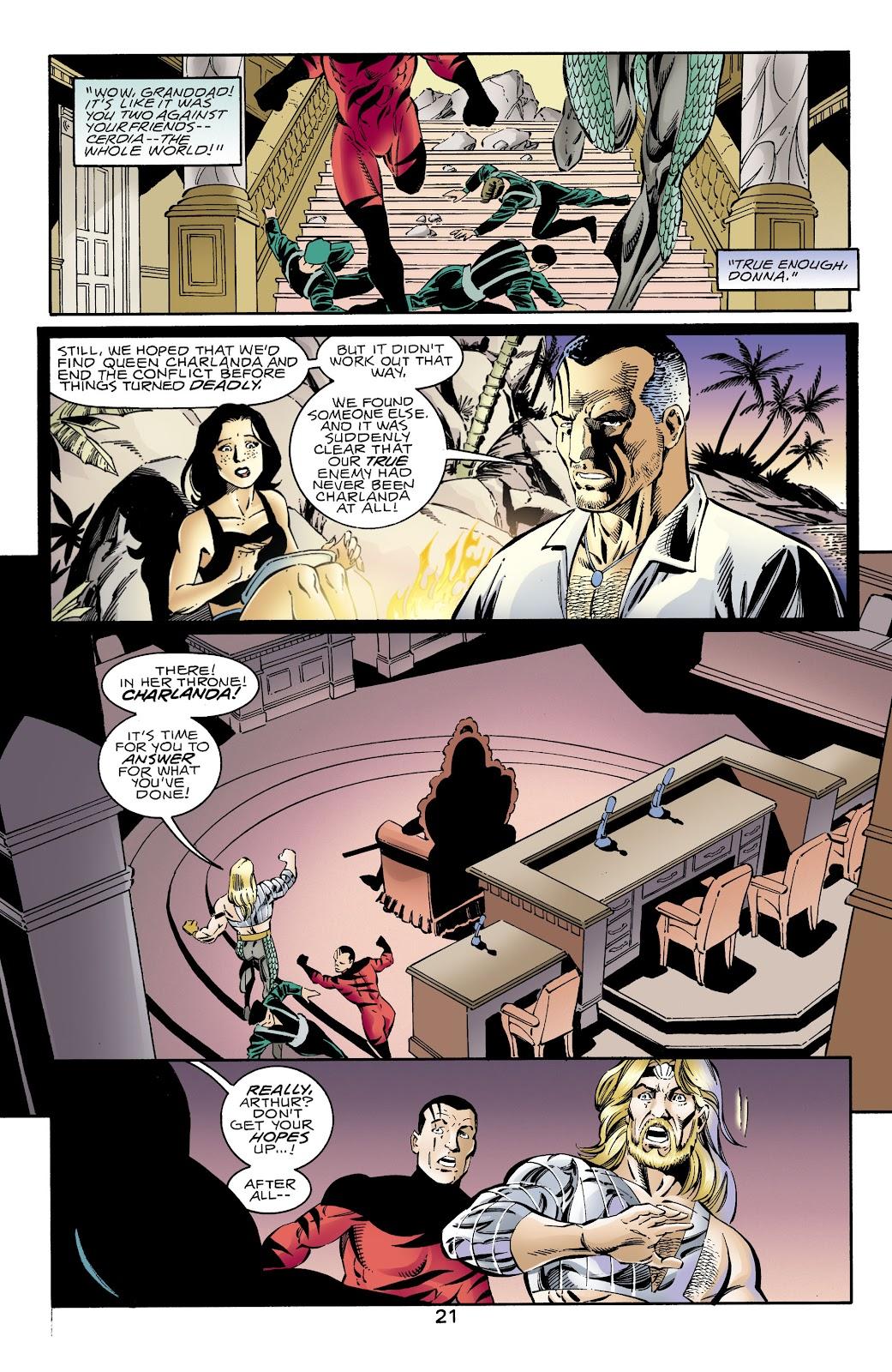 Aquaman (1994) Issue #66 #72 - English 21