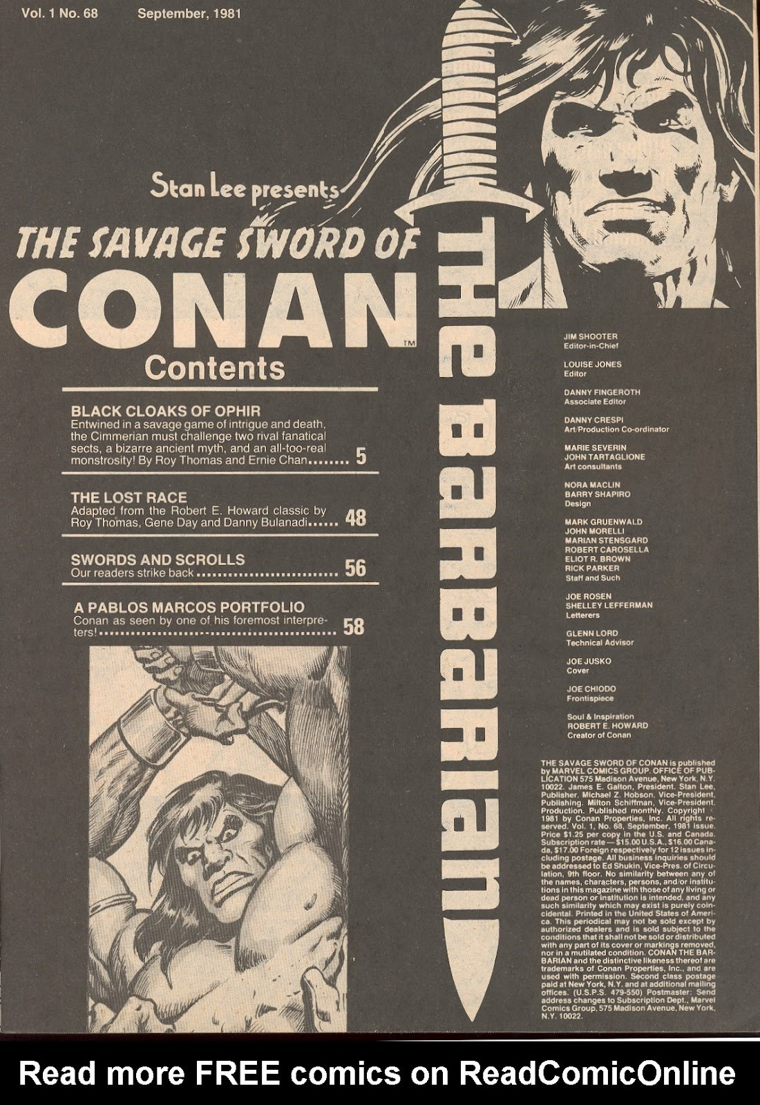 The Savage Sword Of Conan Issue #68 #69 - English 3