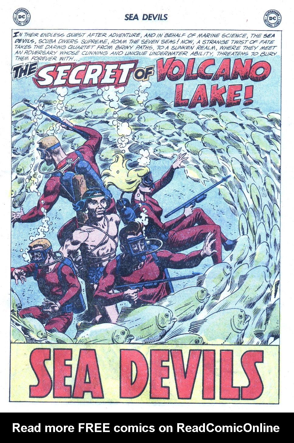 Read online Sea Devils comic -  Issue #4 - 20