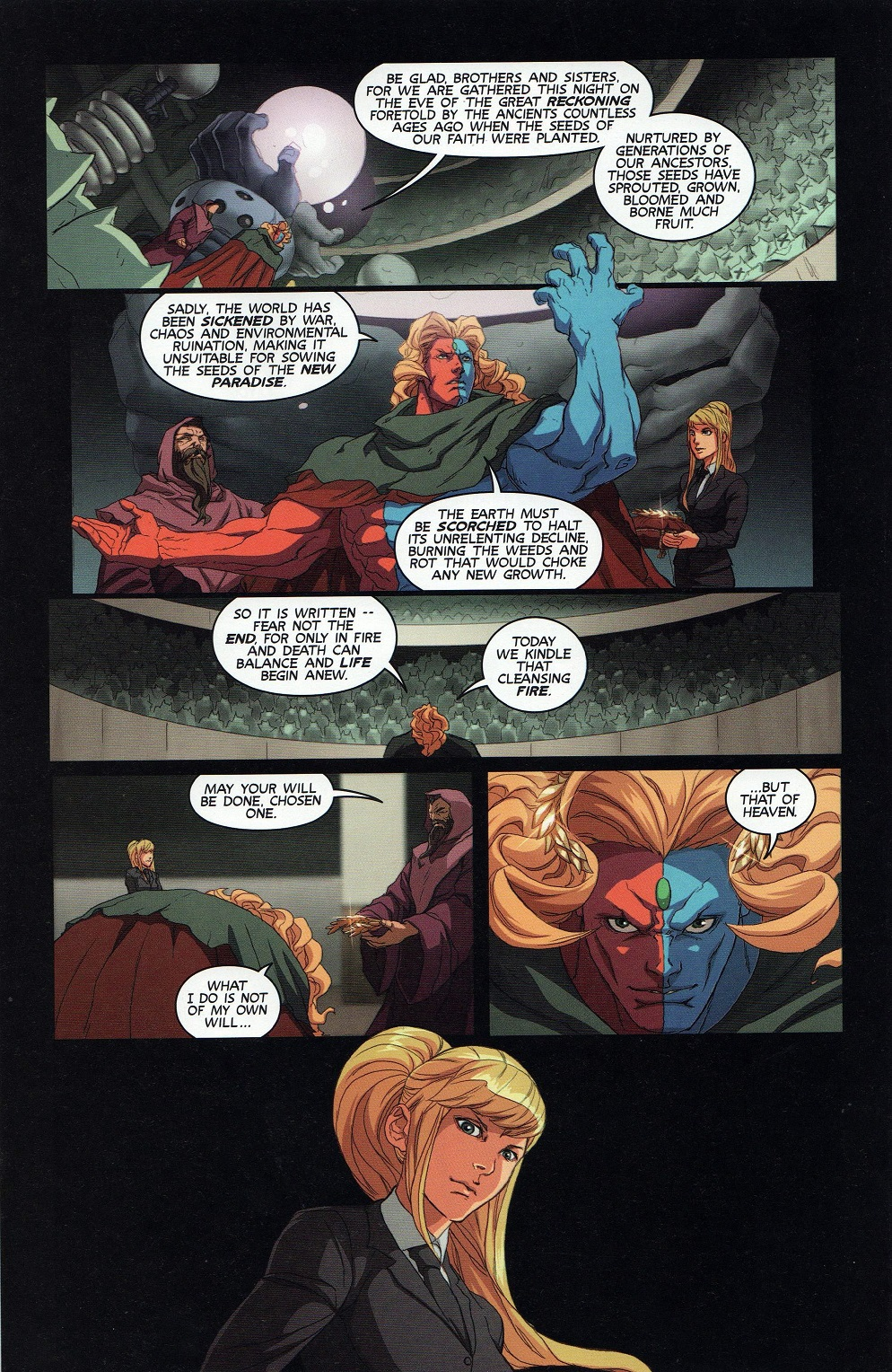 Street Fighter Unlimited Issue #9 #11 - English 13