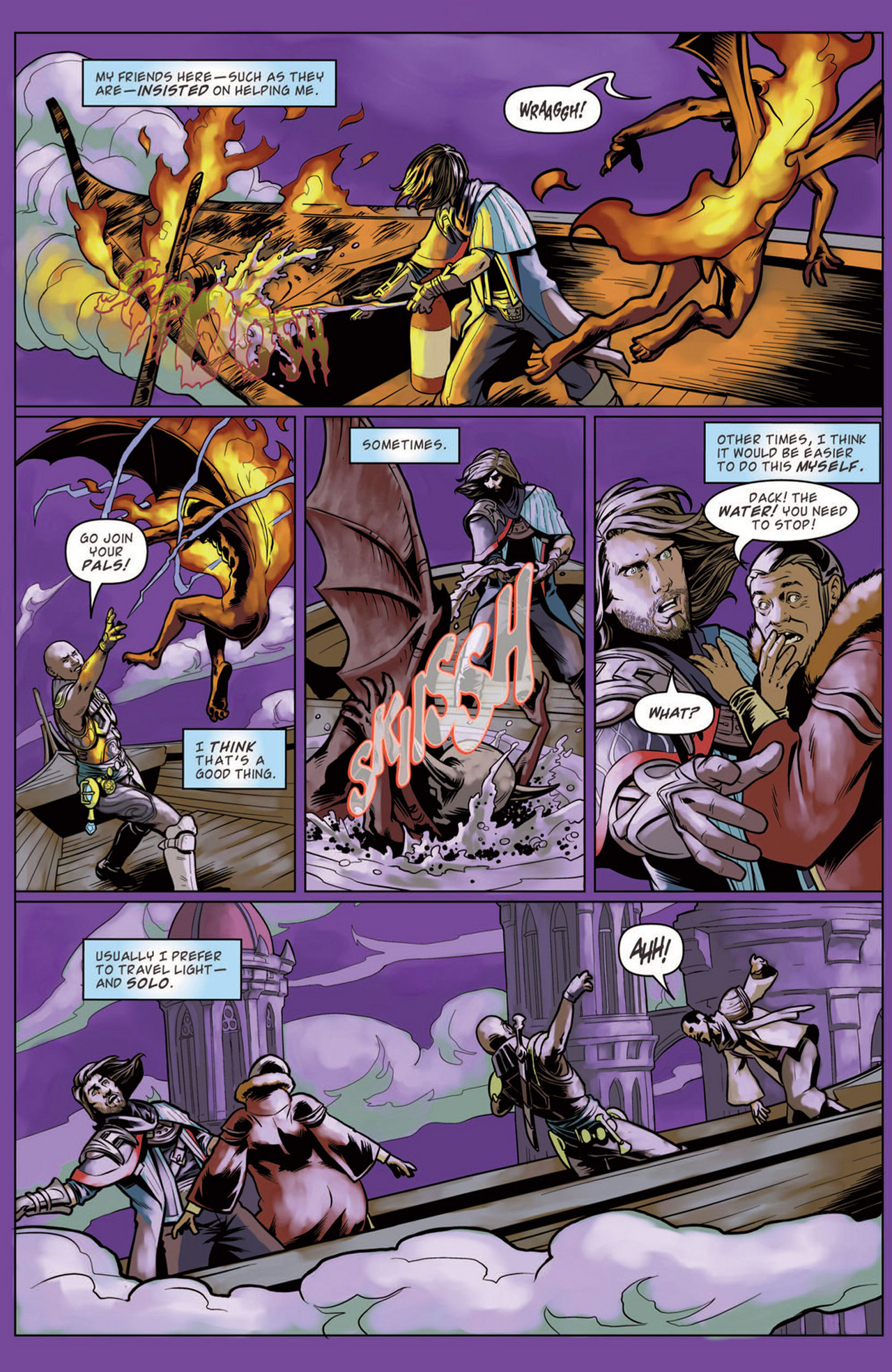 Read online Magic: The Gathering--Path of Vengeance comic -  Issue #3 - 7