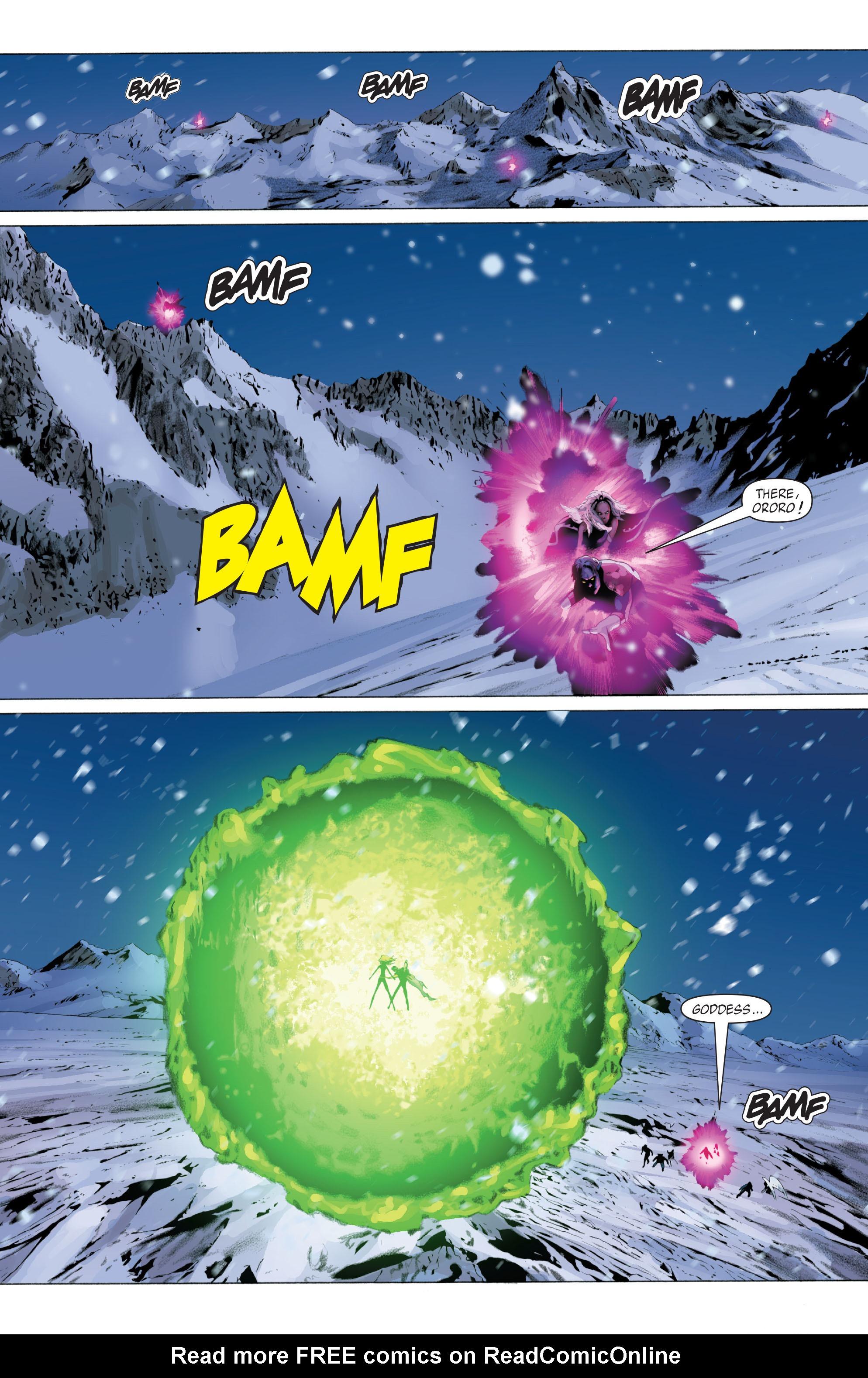 Read online X-Men: Phoenix - Endsong comic -  Issue #5 - 8