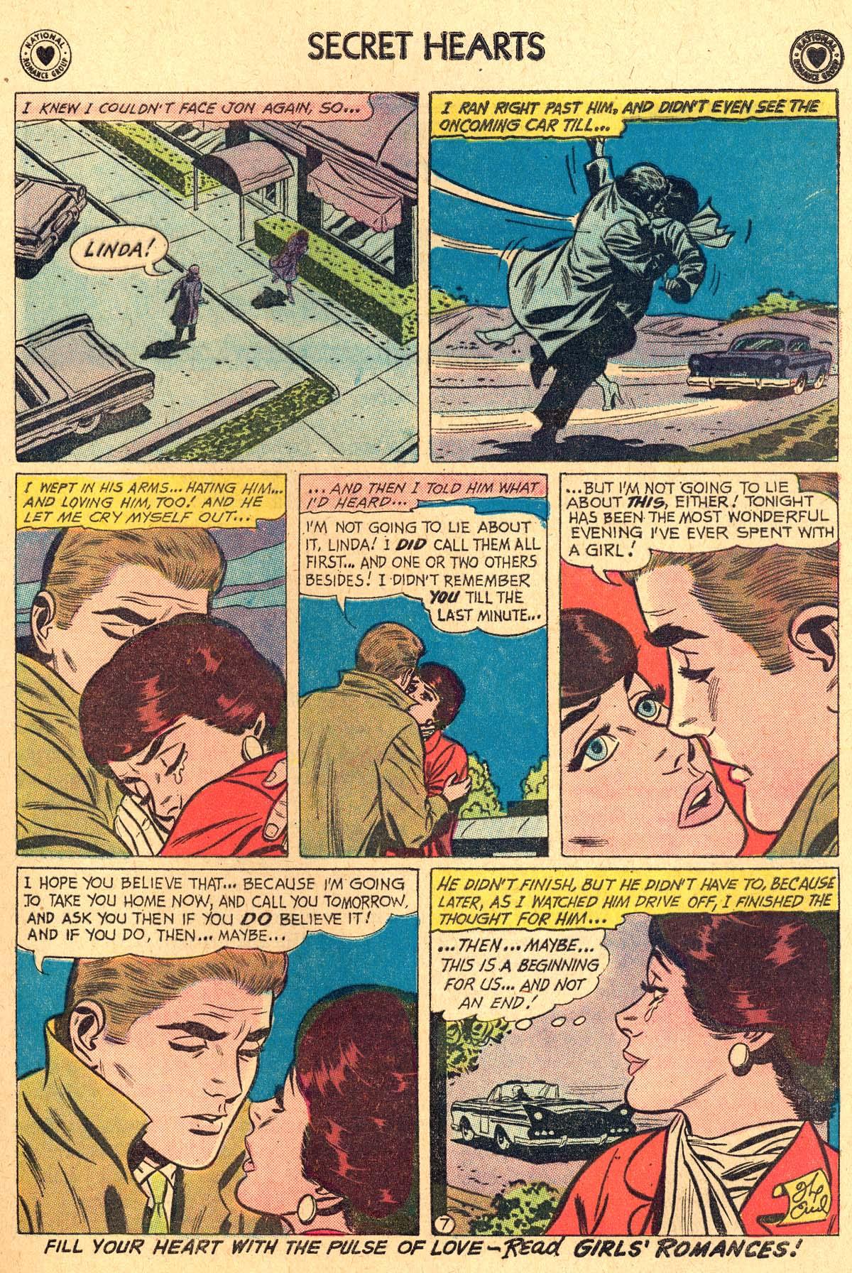 Read online Secret Hearts comic -  Issue #69 - 17