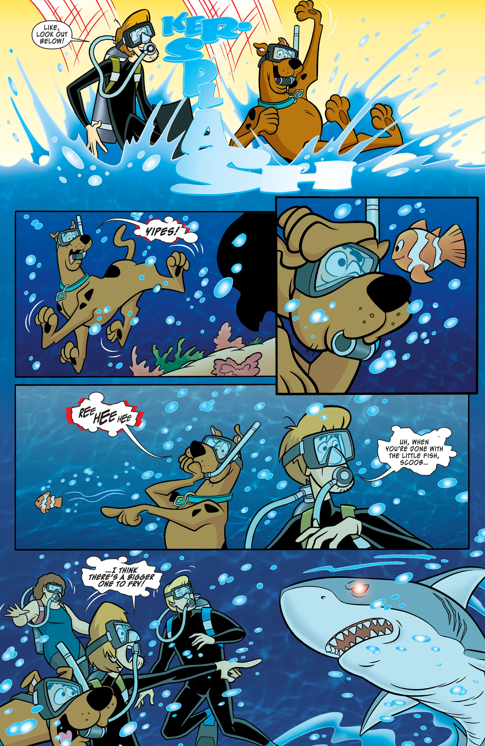 Read online Scooby-Doo: Where Are You? comic -  Issue #54 - 3