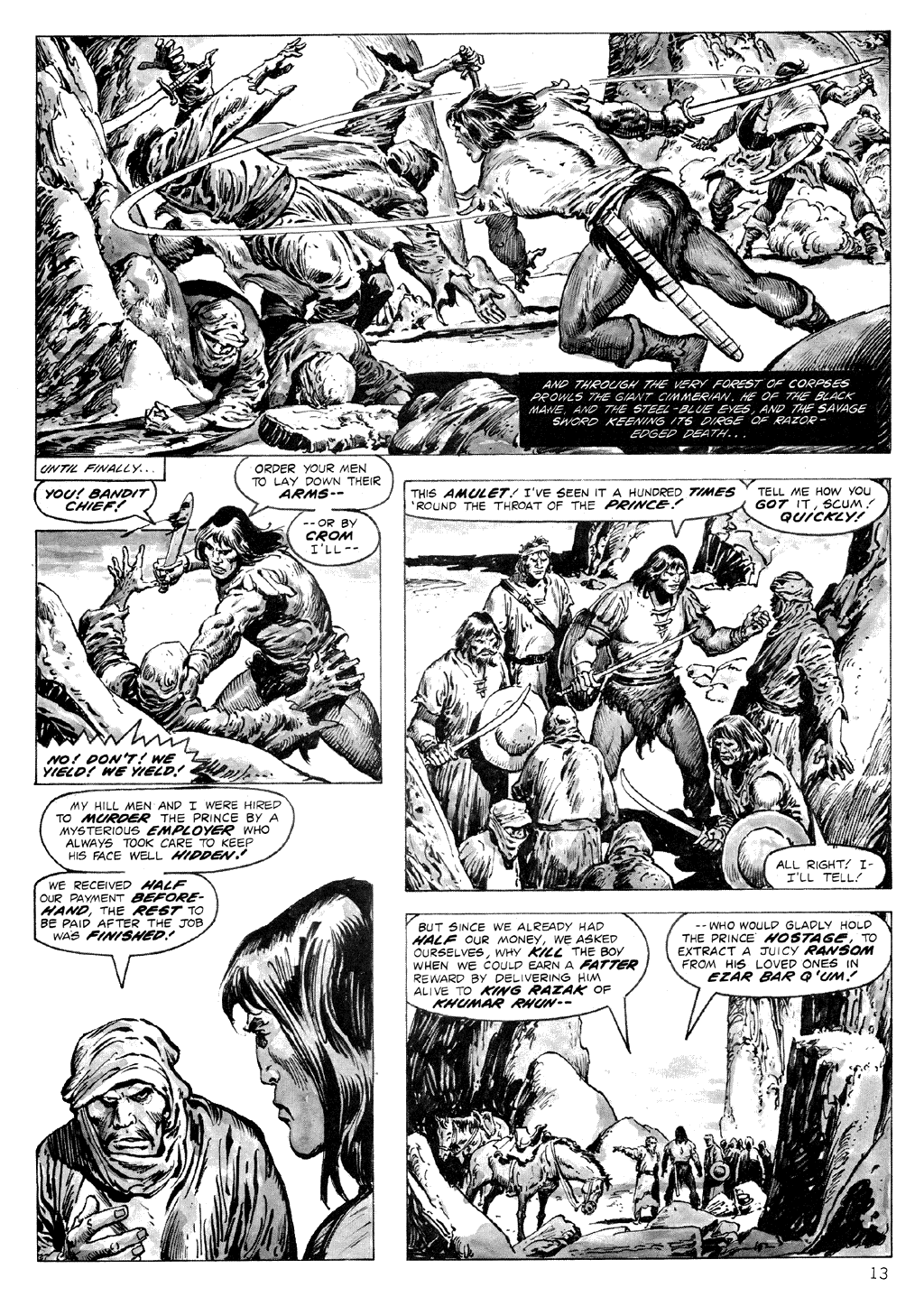The Savage Sword Of Conan Issue #71 #72 - English 13