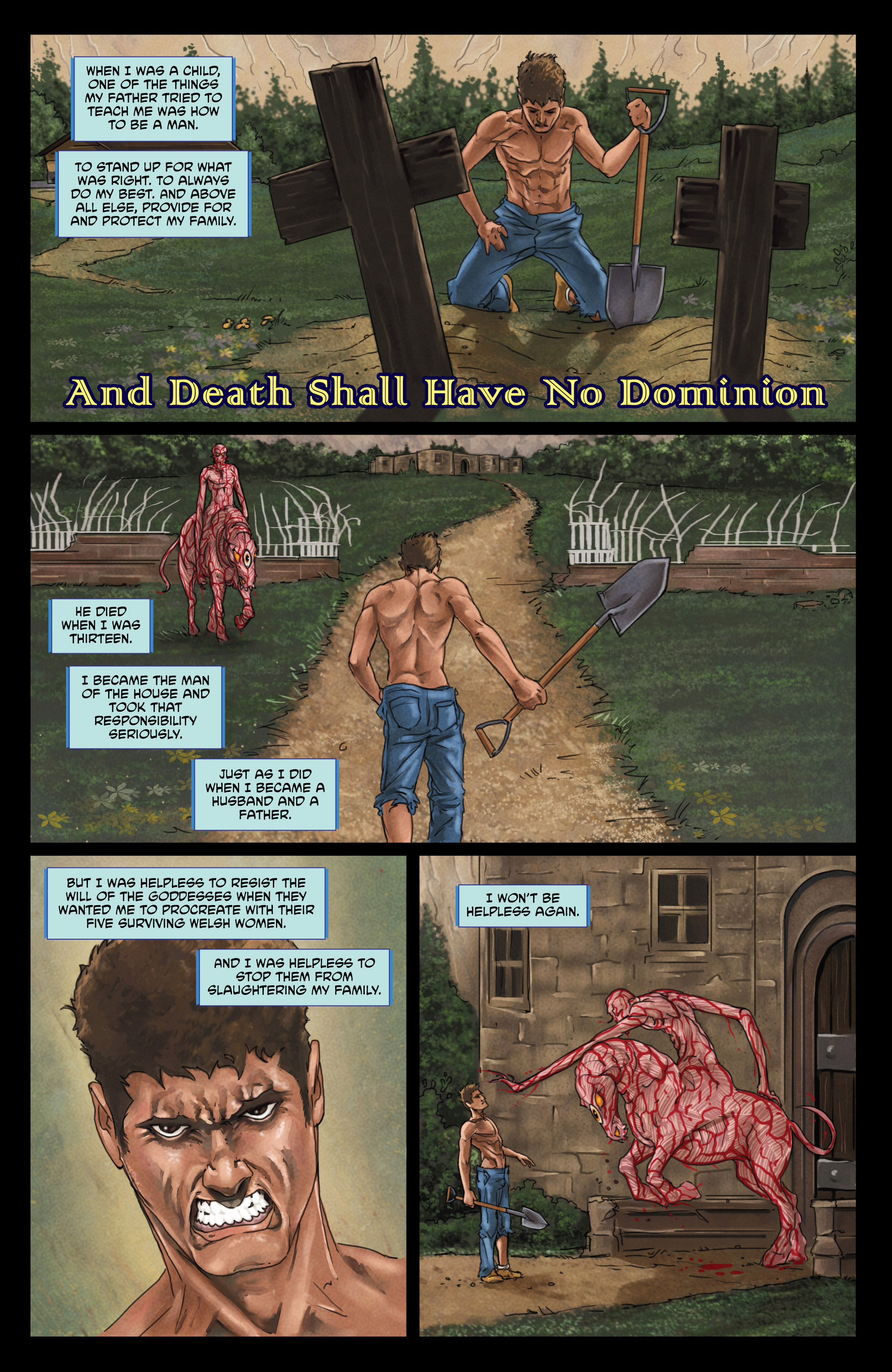 Read online God Is Dead comic -  Issue #44 - 19