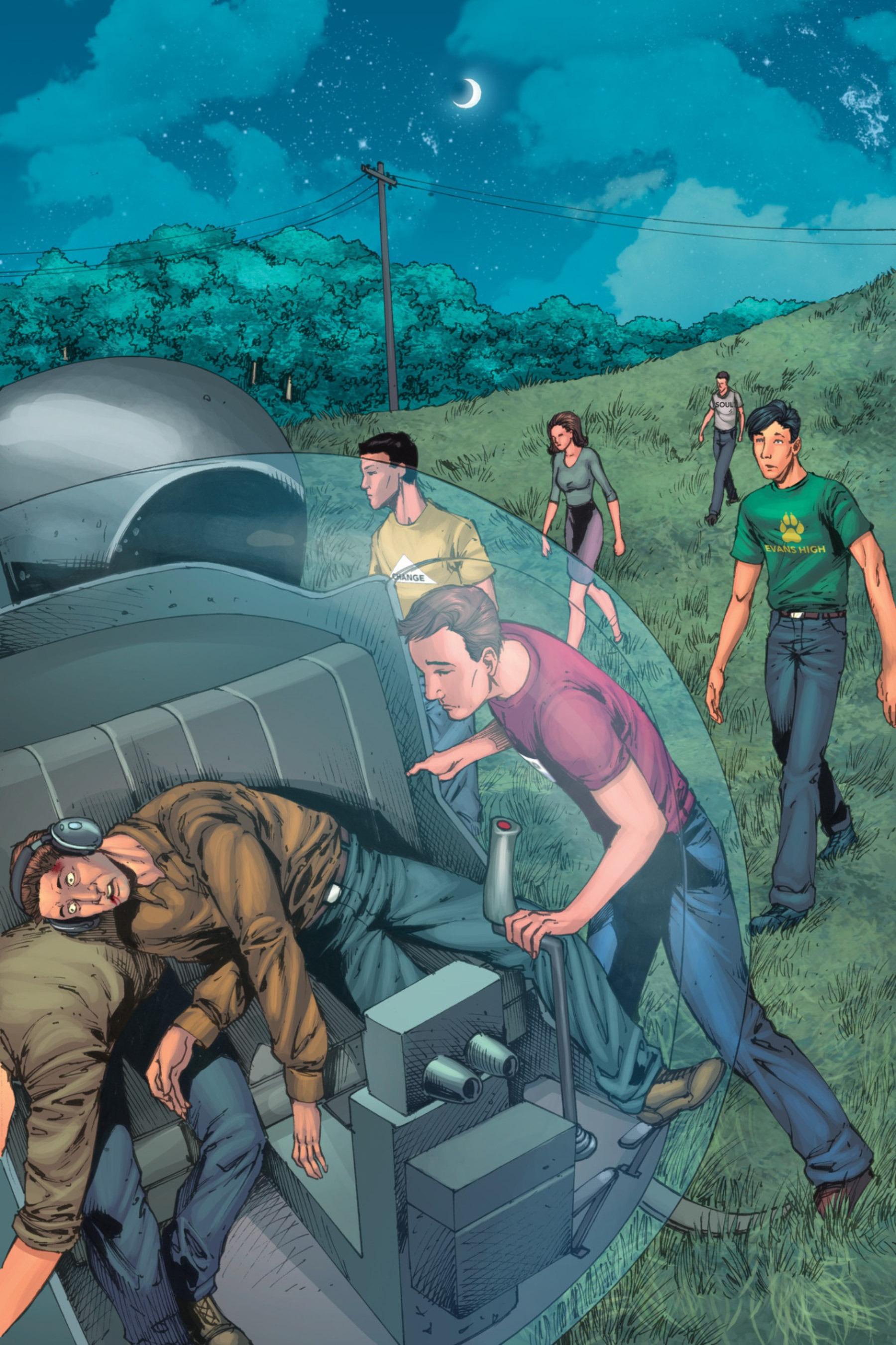 Read online Z-Men comic -  Issue #3 - 59