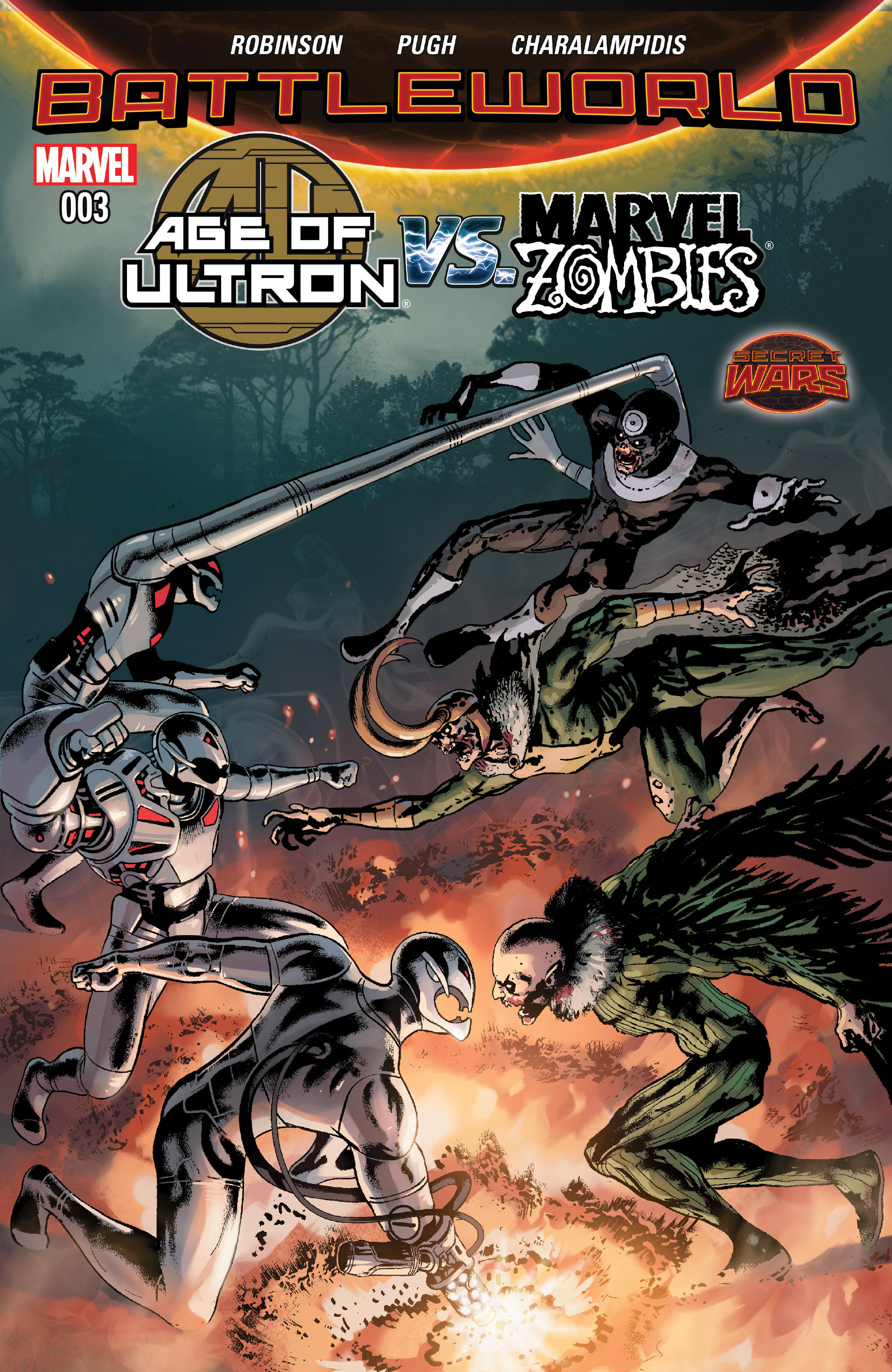 Age of Ultron Vs. Marvel Zombies 3 Page 1