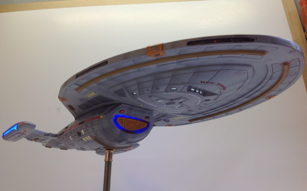 Star Trek, Voyager, Scale model, Revell, Plastic Model,