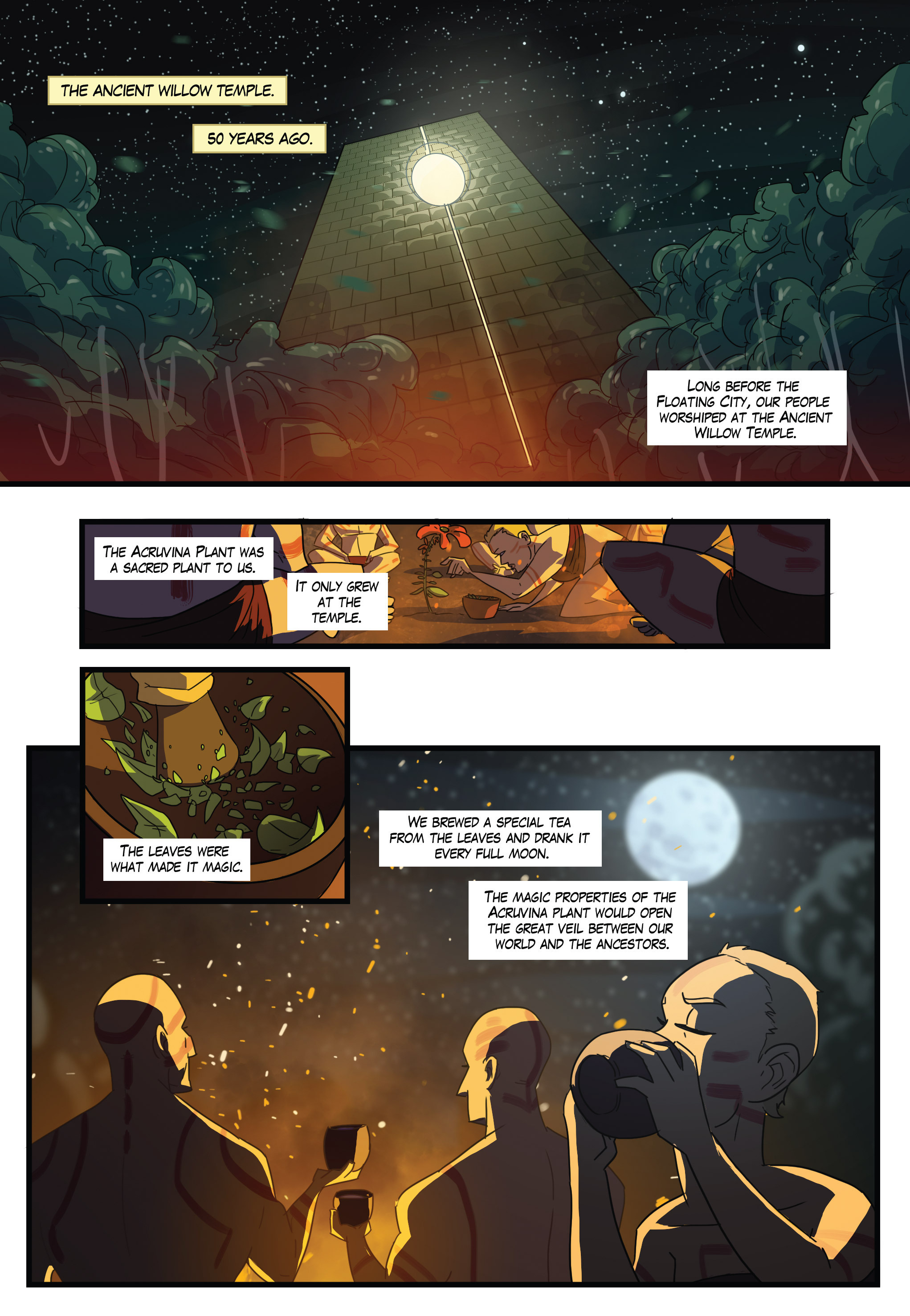 Read online Scavenger comic -  Issue #1 - 12