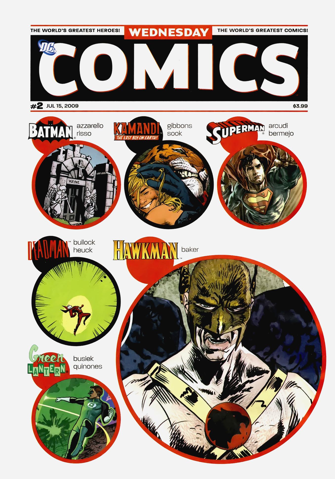 Read online Wednesday Comics comic -  Issue #2 - 1