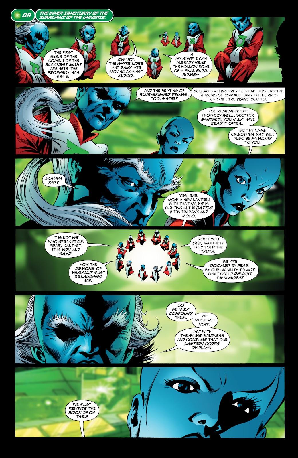 Green Lantern: The Sinestro Corps War Full #1 - English 132