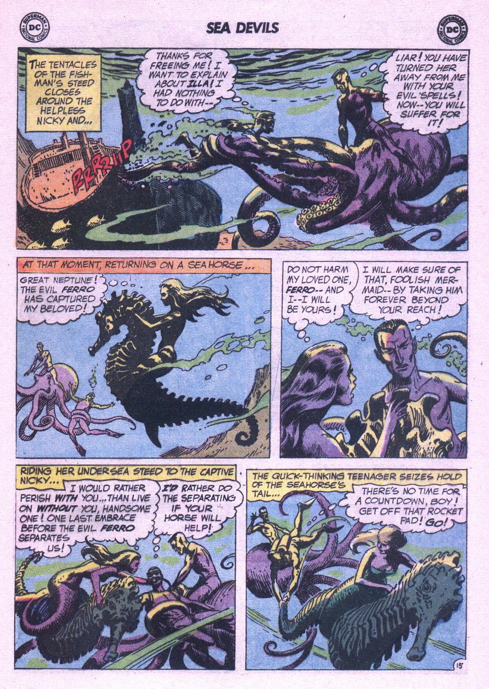 Read online Sea Devils comic -  Issue #6 - 22