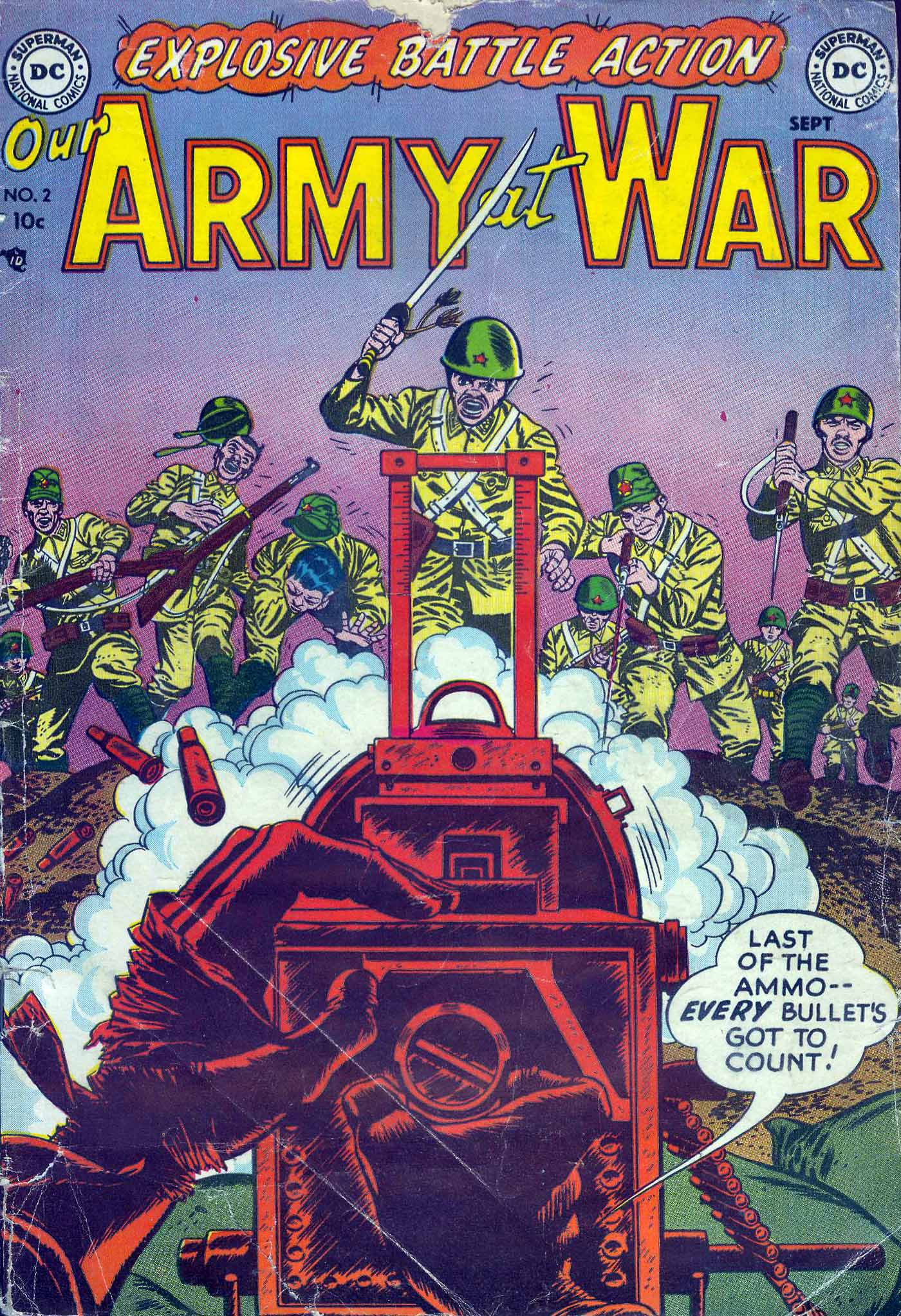 Our Army at War (1952) #2 #300 - English 1