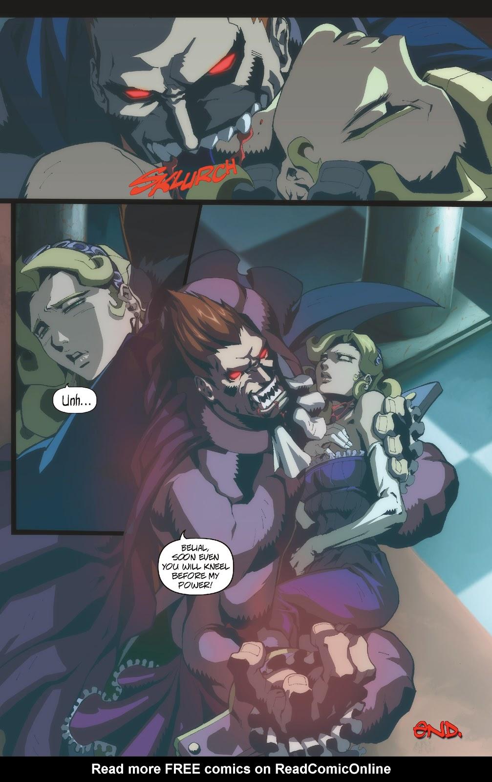 Darkstalkers Issue #3 #4 - English 25
