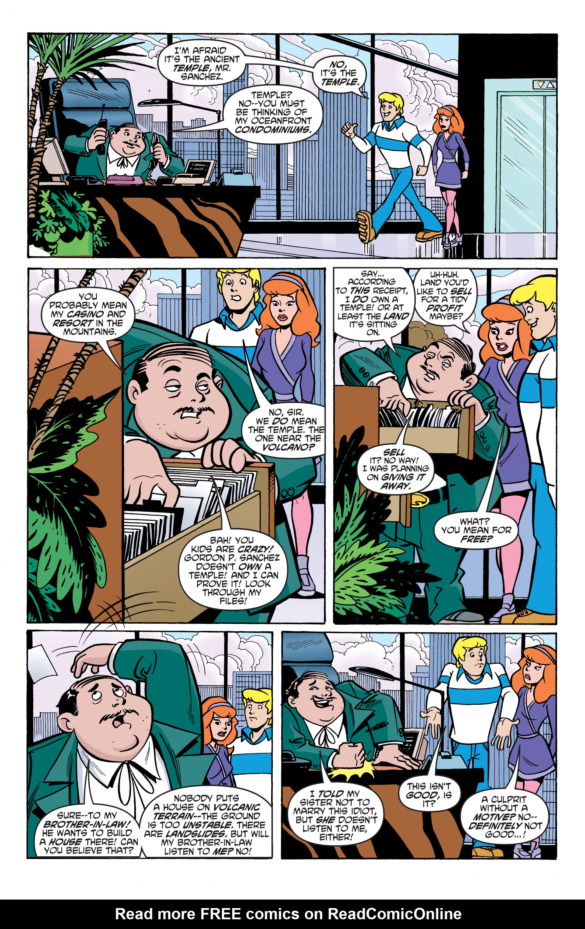 Read online Scooby-Doo: Where Are You? comic -  Issue #59 - 15