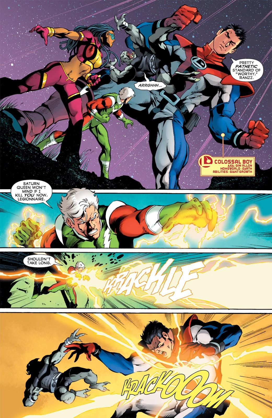 Legion of Super-Heroes (2010) Issue #12 #13 - English 4