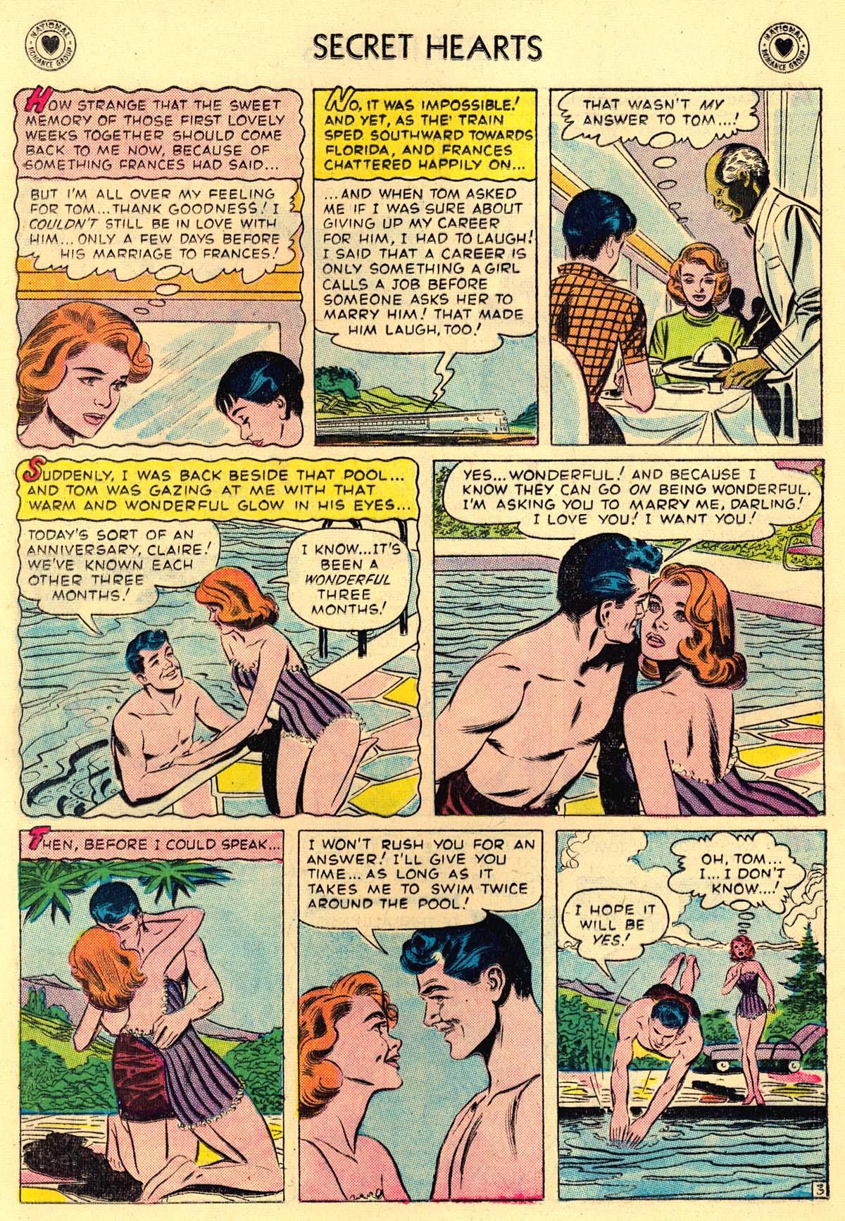 Read online Secret Hearts comic -  Issue #43 - 12