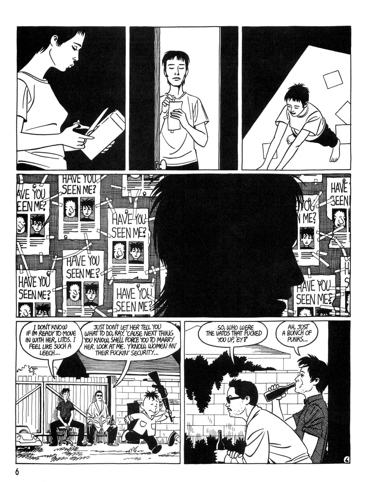 Love and Rockets (1982) #35 #35 - English 8