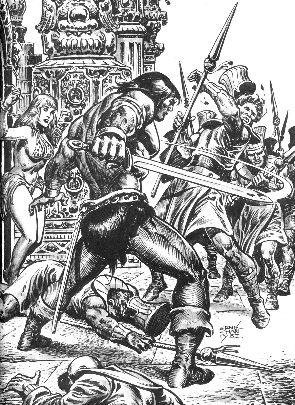 The Savage Sword Of Conan Issue #87 #88 - English 59