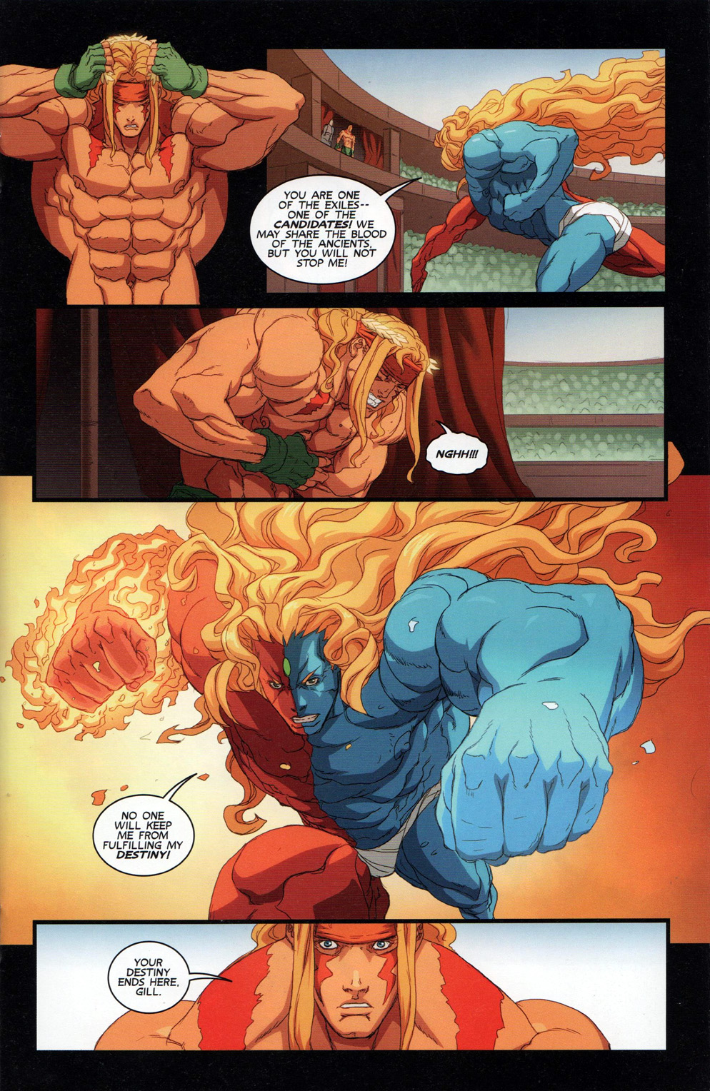 Street Fighter Unlimited Issue #10 #12 - English 15