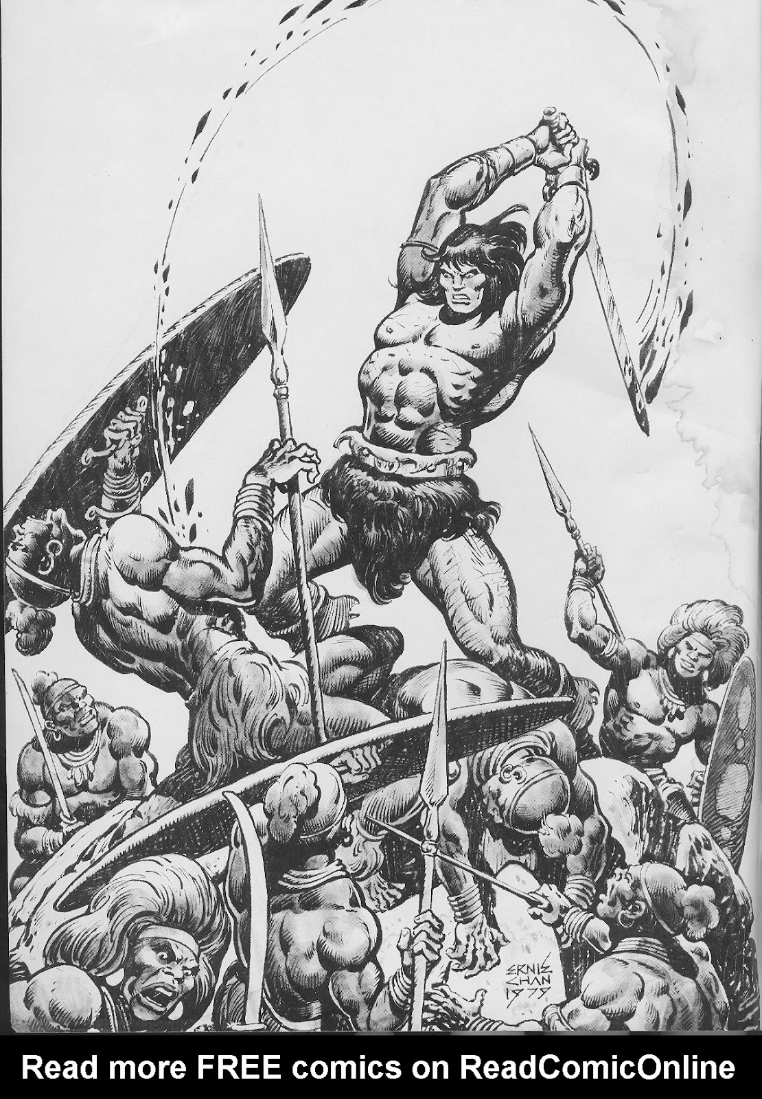 The Savage Sword Of Conan Issue #45 #46 - English 2