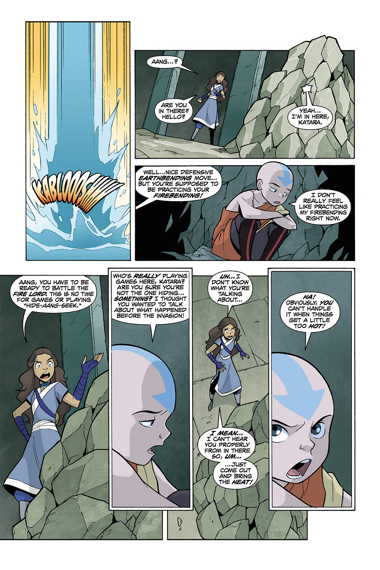 Nickelodeon Avatar: The Last Airbender - The Lost Adventures chap full pic 193