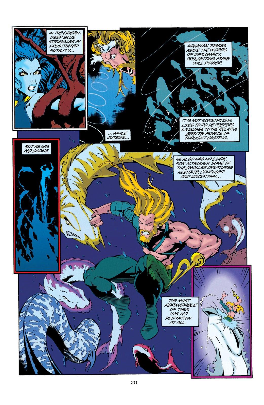 Aquaman (1994) Issue #29 #35 - English 20