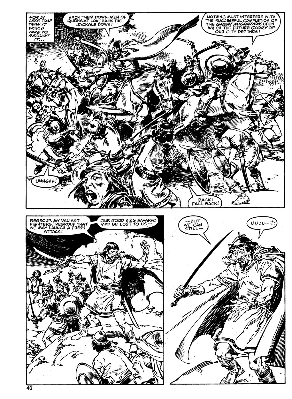 The Savage Sword Of Conan Issue #90 #91 - English 39