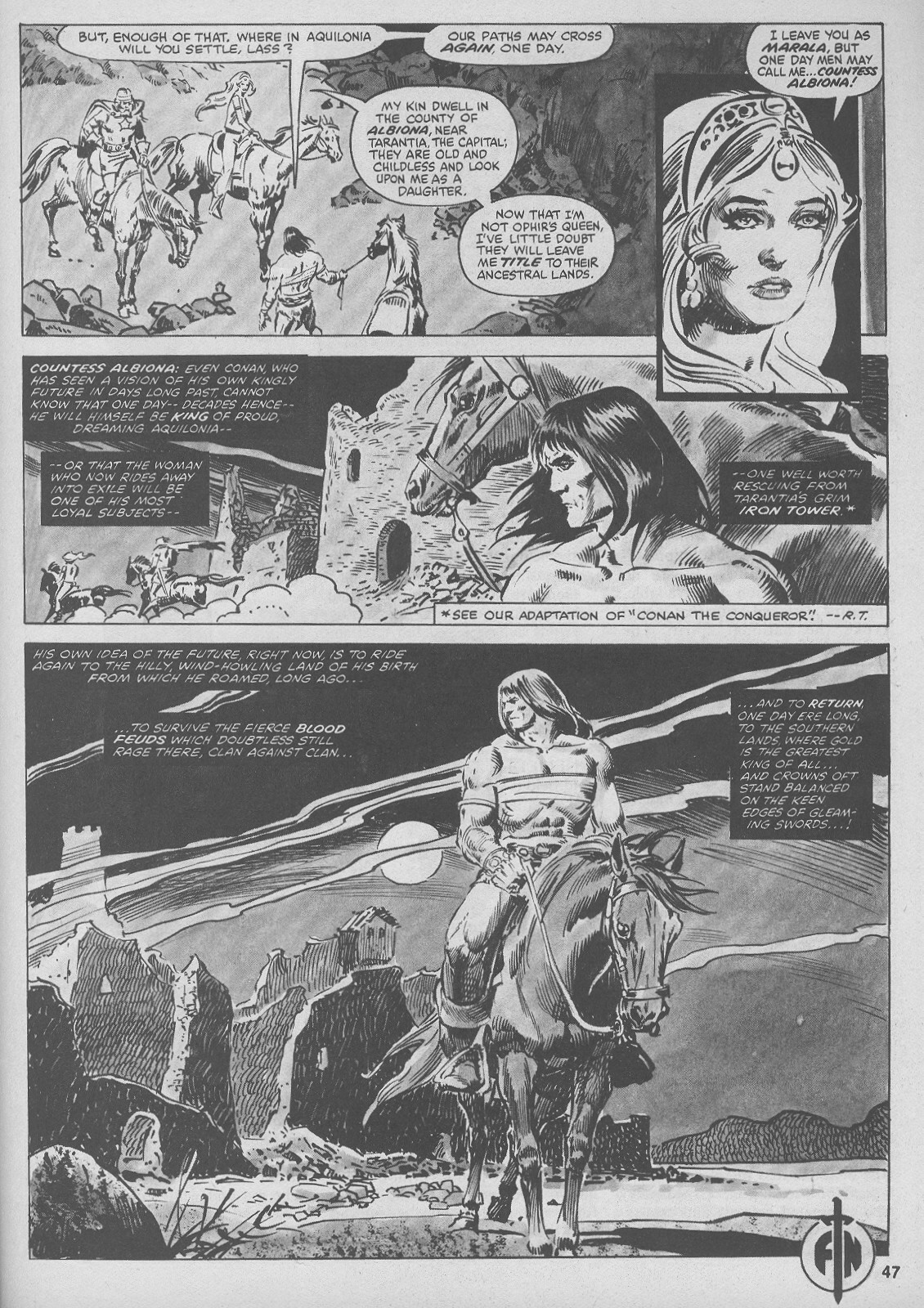 The Savage Sword Of Conan Issue #44 #45 - English 47