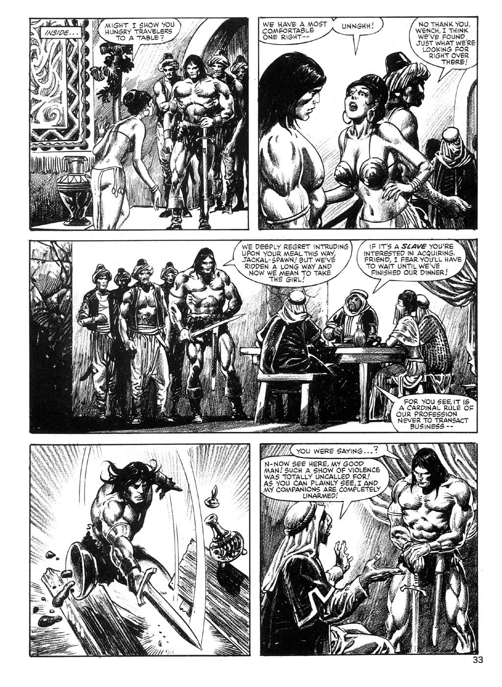 The Savage Sword Of Conan Issue #89 #90 - English 33