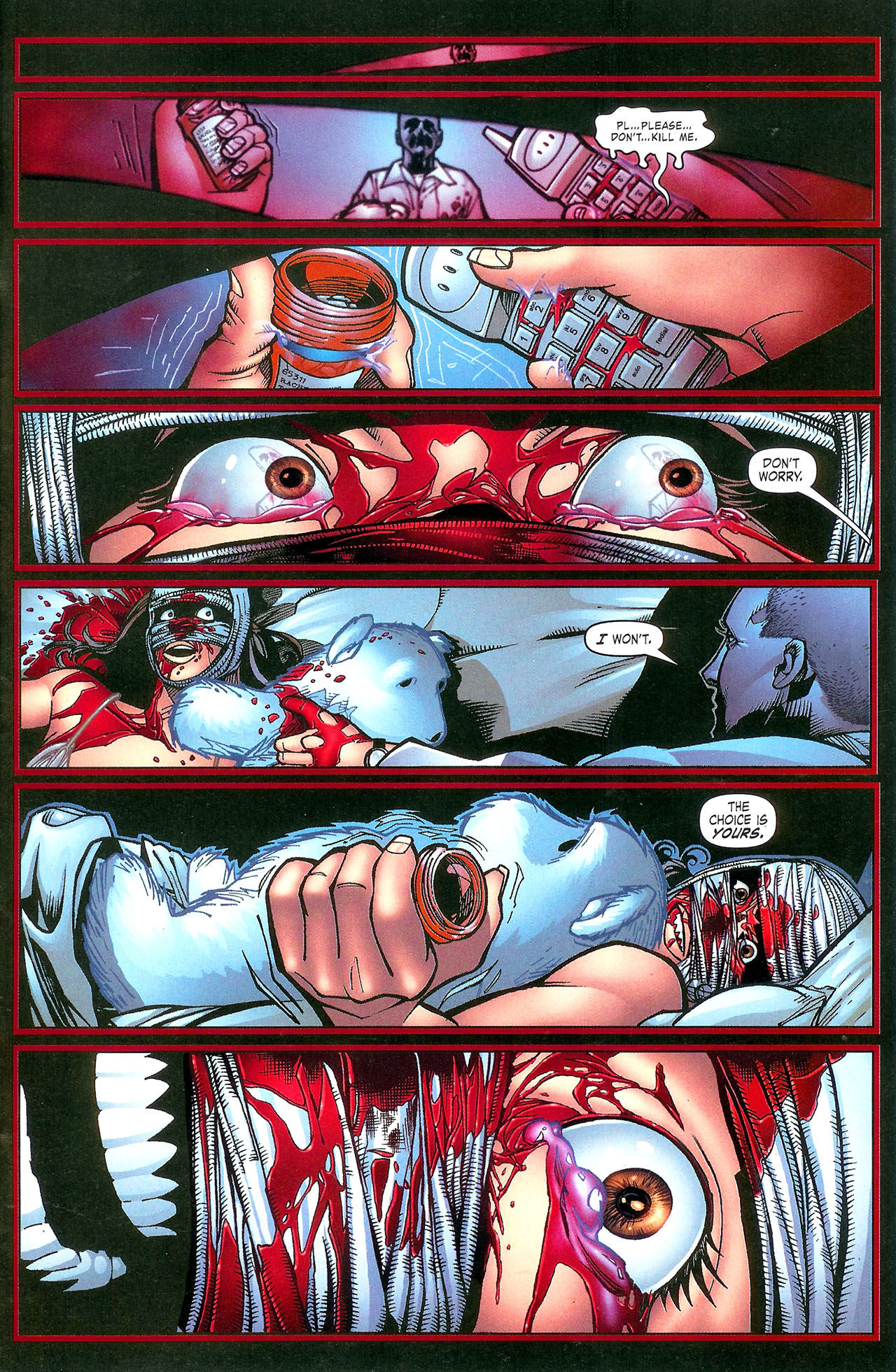 Read online Se7en comic -  Issue #5 - 27