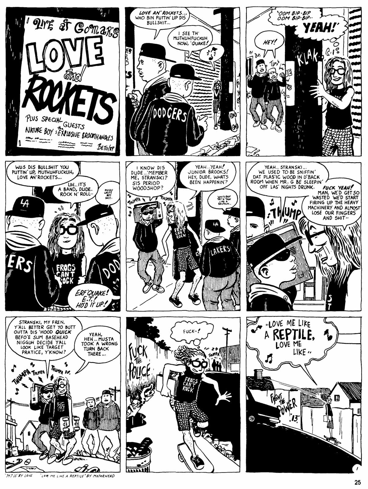 Love and Rockets (1982) Issue #31 #29 - English 27