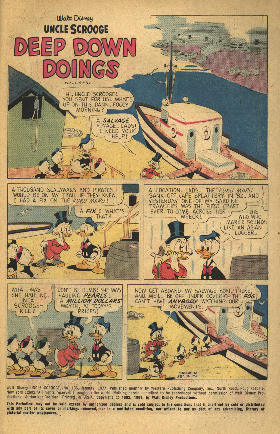 Uncle Scrooge (1953) Issue #136 #136 - English 3